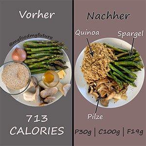 veganes quinoa rezept