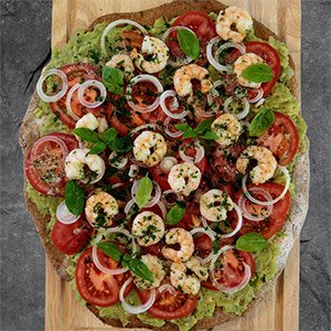 avocado pizza rezept
