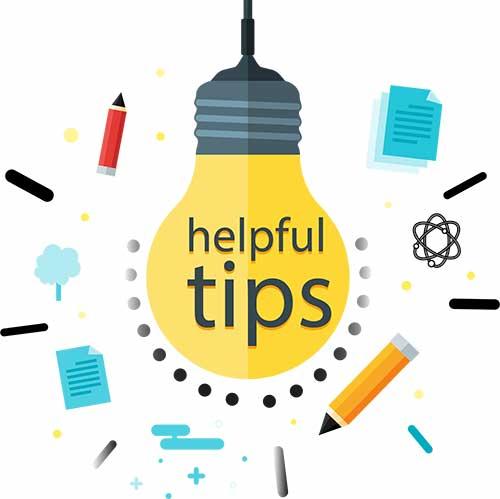 helpful tips bild