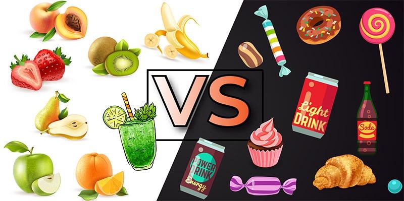 Fruchtzucker natur vs isolierter Fruchtzucker