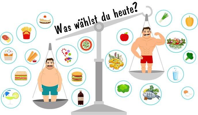 Diäten zum Abnehmen in einer Woche ohne freien Rückprall