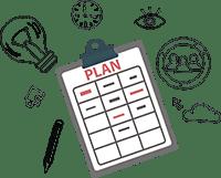 Ernährung umstellen, richtige Planung